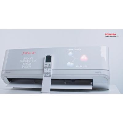 Опис кондиціонера Toshiba Shorai (J2KVRG). ВІДЕО
