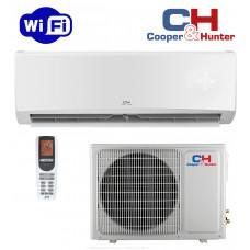 Кондиціонер міні-спліт система Cooper&Hunter Alpha Inverter Wi-Fi CH-S24FTXLE-NG (Wi-Fi)