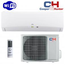 Кондиціонер міні-спліт система Cooper&Hunter Icy II Inverter Wi-Fi CH-S24FTXTB2S-W (Wi-Fi)